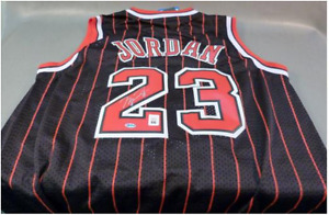Michael Jordan Autographed Jersy With certificate of authentic