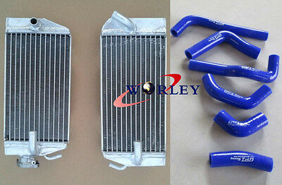 Aluminium Radiator & Hose for Honda CRF450R CRF 450 R 2002 2003 2004