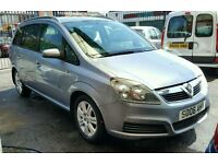 Vauxhall Zafira 1.6 petrol 7SEATER 130k 12 mot