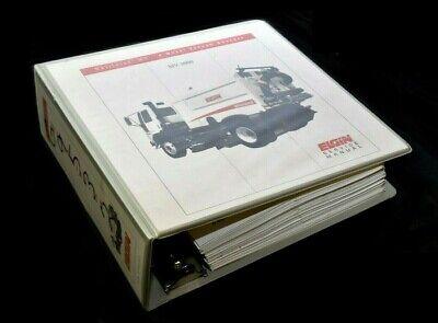 Elgin Whirlwind Mv-3000 Street Sweeper Shop Repair Service Manual