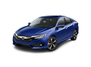Lease Transfer of 2018  Blue Honda Civic Sedan TOURING CVT