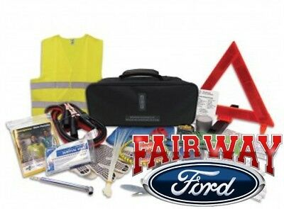 Lincoln Factory Emergency Roadside Assistance Kit - Tools, Safety Gear & More!