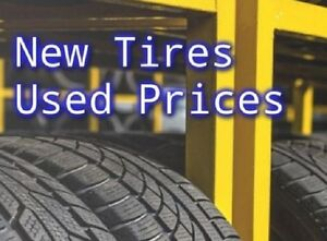 New Tires, Used Prices + Free installation & balance