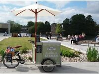 FOR HIRE CLASSIC STYLE ICECYCLE TRICYCLE FOR PRIVATE FUNCTIONS