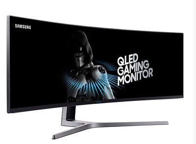 "[On the block] SAMSUNG C49HG90 49"" QLED Quantum Dot 144Hz HDR 32:9 Curved Gaming Monitor"