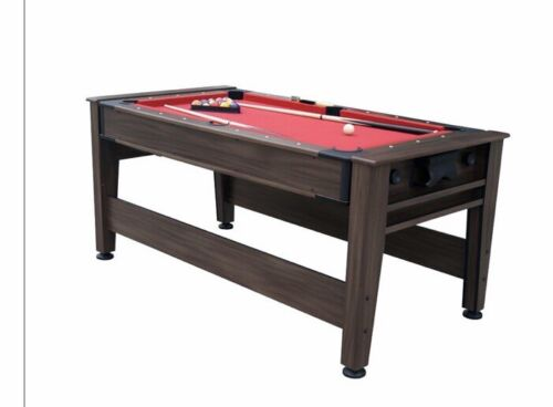 6 Ft Pool And Air Hocky Table  Excellent Condition