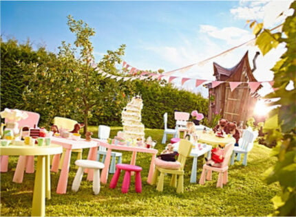 Kids party furniture set - for hire