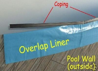 COPING STRIPS, 15′ x 24′ Above Ground Pool Liner, Qty 34 Home & Garden
