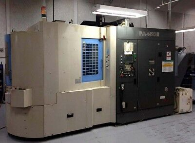 2001 Toyoda Fa450iii Cnc Horizontal Machining Center Hmc 120 Atc 14k Rpm Tsc