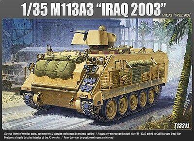 """Academy 1/35 Plastic Model Kit M113A3 """"IRAQ 2003""""  13211 NIB"""
