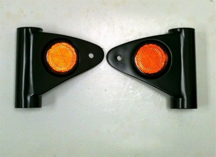 H2 750 Head Light Bracket - Fork Cover Set - 1972-1975
