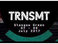 4 x TRNSMT Festival - Sunday Day Ticket Glasgow Green 9th July.