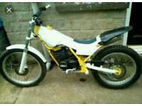 Trials bike 80cc