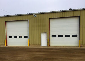 50x50 With Two 14ft Overhead Doors