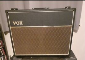 Vox Ac30cc2. Upgraded and modified.