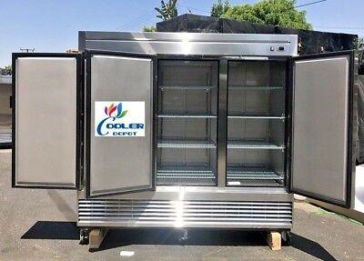 Nsf Three Door Freezer 83fcommercial Reach In Freezer Refrigerator Refrigerated