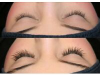 Eyelashes extension Russian 1:1