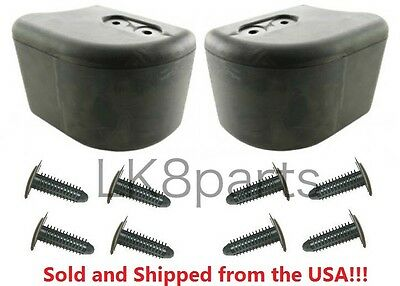 LAND ROVER DEFENDER 90 110 130 FRONT BUMPER CORNERS END CAPS