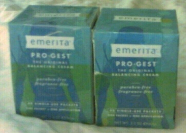 96 Single Use Packets Emerita Pro-Gest Balancing Cream | Usp