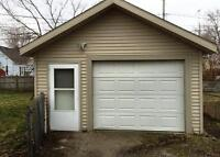 Garage for shop work needed