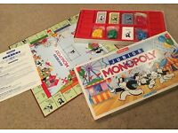 Junior Monopoly kids board game by Waddingtons