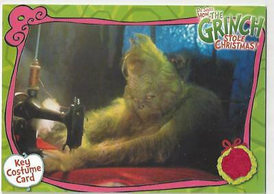 Grinch Who Stole Christmas Costumes (The Grinch Who Stole Christmas Costume Card CC4 Piece of Santa Suit Movie)