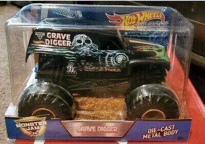Hot Wheels Monster Jam 25th Original GRANDMA GRAVE DIGGER 1:24 Diecast Truck New
