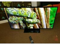 Bush 50 inch led HD tv excellent condition fully working with remote control