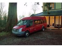 Mini bus For Hire, 16 Passenger seats