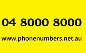 04.8000  8000  Gold mobile phone number. New. VIP. Platinum. Premium Sydney City Inner Sydney Preview