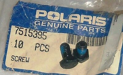 POLARIS PURE OEM NOS ATV SNOWMOBILE PWC BOLT PACK OF TWO 2 7515395
