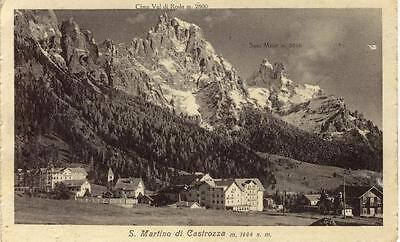 S. MARTINO DI CASTROZZA DOLOMITI TRENTO VIAGGIATA 1931