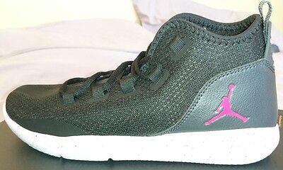 Nike Jordan Reveal GG Uk 6 HI Top Trainers 834184 061 Bnib Black white Pink 617ef5086