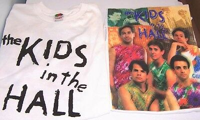 Vintage Kids in the Hall T shirt M NEW heavy cotton Fruit Loom - Hall Cotton