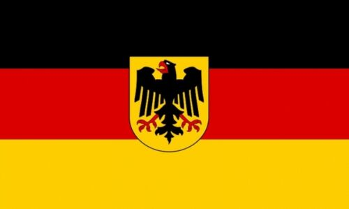 GERMANY FLAG 8X5 FEET HUGE German State Eagle FLAGS FREE POSTAGE UK