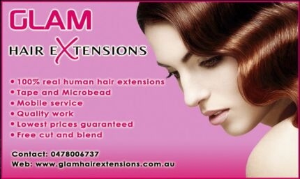 Mobile Hair Extensions Sydney