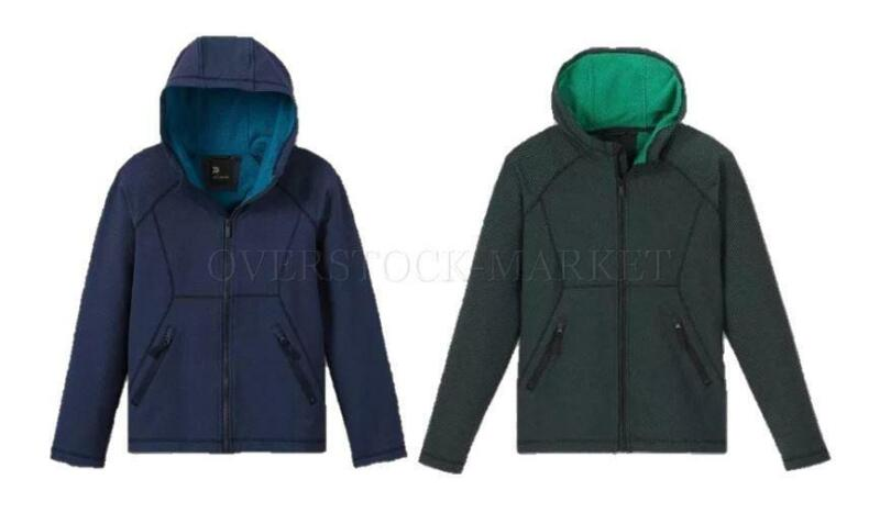 NEW! BOYS ALL IN MOTION LIGHTWEIGHT STRETCH WOVEN FLEECE FABRIC JACKET! VARIETY