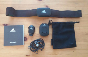 Adidas miCoach Pacer and Heart Rate Monitor