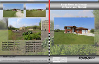 Large 6 Bdrm Home on Acreage Just 3 Min from Steinbach!!