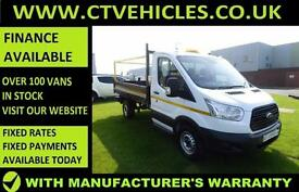 2015 15 Ford Transit van 2.2TDCi 125bhp 350 Tipper New shape, Tidy S/CAB