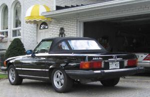 mercedes 1981 380SL à vendre, bonne condition, faut voir,