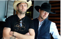 Dean Brody with Paul Brandt  *FANTASTIC SEATS**
