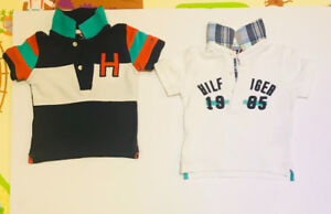 Tommy Hilfiger 6 to 9 months tops at a great price!