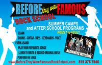 Famous Rock School After school program September Owen Sound