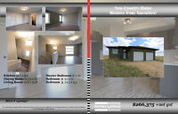 New Country Home on Acreage Near Steinbach!