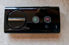 Supertooth visor speaker phone
