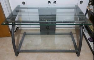 GLASS TV Stand 40 inch x 24 inch