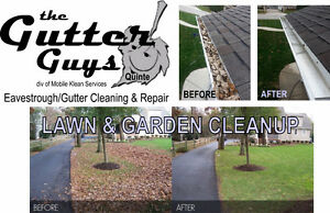 The Gutter Guys Quinte - Eavestrough Cleaning and Repair Belleville Belleville Area image 1