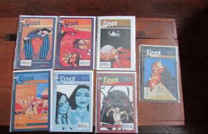 Lot of 7 DC/Vertigo EGYPT comics