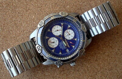 Invicta Titanium Professional Diver Chronograph 100 Meters, 1/20th Second